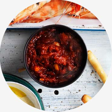 Prawn recipe - Tomato Chilli Dipping Sauce