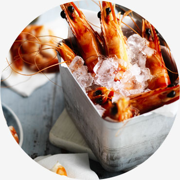 Prawn recipe - A Bucket of Australian Prawns with Texas Green Chilli Mayonnaise