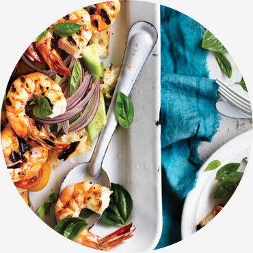 Prawn recipe - Australian Prawn Panzanella Salad
