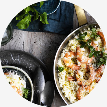 Prawn recipe - Australian Prawn & Fennel Risotto