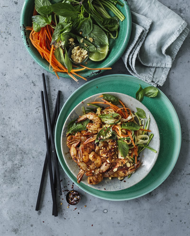 Love Australian Prawns popular 2019 Pad Thai recipe