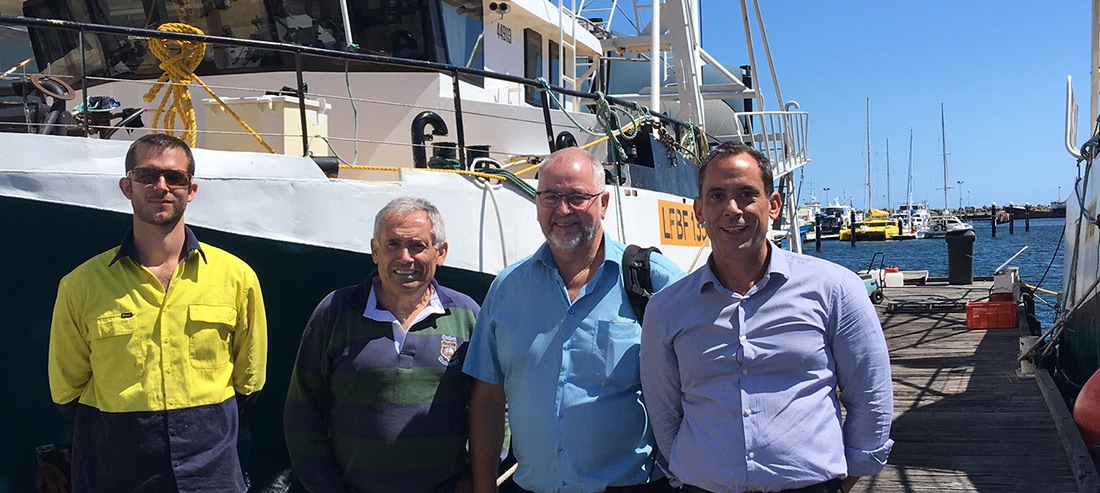 On-board processing - KM Machinery visits Australia