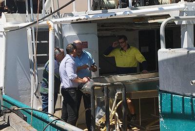 On-board processing efficiency - Kaj Christensen from KM Machinery visits WA